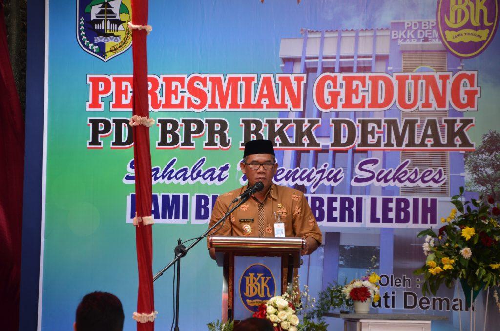 Peresmian Gedung PD BPR BKK Demak